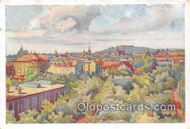 xrt348001 - Artist Prof Jarosl Kousek Brunn, Brno Postcard Post Card