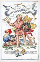 xrt351006 - Artist L Kratochvila Vesele Velikonoce Postcard Post Card