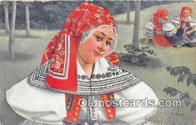 xrt352001 - T Kroje Postcard Post Card