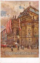 xrt352007 - J Kotlar Narodni Divadlo V Praze Postcard Post Card