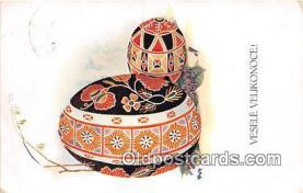 xrt352014 - T Kroje Vesele Velikonoce Postcard Post Card