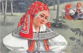 xrt352018 - T Kroje Ceskoslovenske Narodni Kroje Postcard Post Card