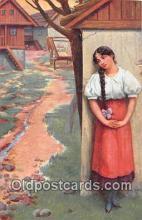 xrt352019 - T Kroj Zapomnel Postcard Post Card