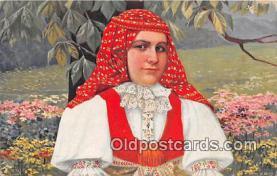 xrt352020 - T Kroje Ceskoslovenske Narodni Kroje Postcard Post Card