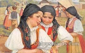 xrt352021 - T Kroje Ceskoslovenske Narodni Kroje Postcard Post Card
