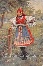 xrt353004 - Eda Kubicek Devce Z Borsova Postcard Post Card