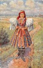 xrt353005 - Eda Kubicek Devce Ze Spytihnevi Postcard Post Card