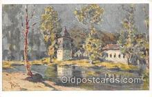 xrt354017 - Artist L Kuba Bad Podiebrad Postcard Post Card
