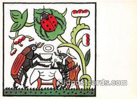 xrt356058 - Artist Josef Lada Cas K Obedu Postcard Post Card