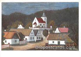 xrt356141 - Artist Josef Lada Ticha Ves Postcard Post Card