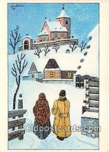 xrt356147 - Artist Josef Lada J Lady Postcard Post Card