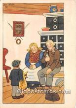 xrt356174 - Artist Josef Lada Ceska Zima Postcard Post Card