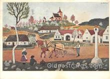 xrt356186 - Artist Josef Lada J Lady Postcard Post Card