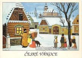 xrt356226 - Artist Josef Lada Ceske Vanoce Postcard Post Card