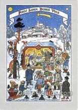 xrt356227 - Artist Josef Lada Betlem 1938 Postcard Post Card