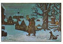 xrt356233 - Artist Josef Lada J Lady Postcard Post Card