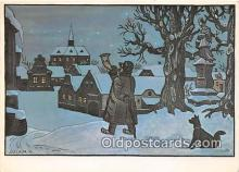 xrt356235 - Artist Josef Lada J Lady Postcard Post Card