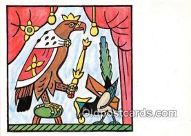 xrt356249 - Artist Josef Lada Orel Skalni Kral Vzduchu Postcard Post Card
