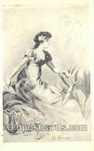 xrt500342 - Artist La Ceramique Artist Signed Postcard Post Cards Old Vintage Antique