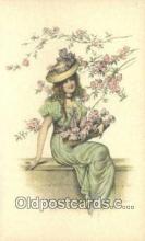 xrt500354 - Artist Signed Postcard Post Cards Old Vintage Antique