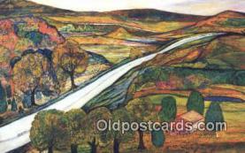 xrt500389 - Artist Nyla G. Thompson Artist Signed Postcard Post Cards Old Vintage Antique