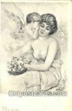 xrt500476 - Artist Signed Postcard Post Cards Old Vintage Antique