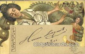 xrt500477 - Artist Signed Postcard Post Cards Old Vintage Antique