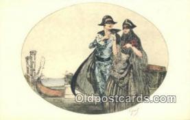 xrt500498 - Artist Signed Postcard Post Cards Old Vintage Antique