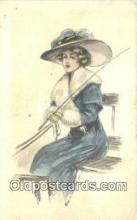 xrt500499 - Artist Signed Postcard Post Cards Old Vintage Antique