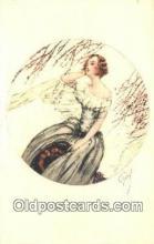 xrt500501 - Artist Signed Postcard Post Cards Old Vintage Antique