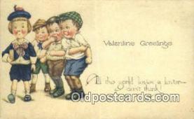 xrt500510 - Artist Signed Postcard Post Cards Old Vintage Antique