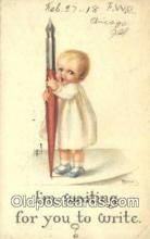 xrt502001 - Artist RJ Best Postcard Post Card Old Vintage Antique