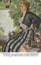 xrt503034 - Artist Edward Cucuel Postcard Post Card Old Vintage Antique Series # W 1236