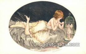 xrt506001 - Folig? Postcard Post Card Old Vintage Antique