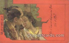 xrt508056 - Artist Hohenstein, Aldofo Iris Series, Postcard Post Card, Old Vintage Antique