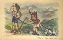 xrt509002 - Idrec, J. Postcard Post Card Old Vintage Antique