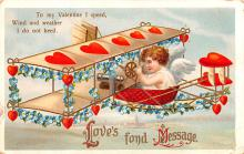 xrt599101 - Valentines Day Post Card Old Vintage Antique Postcard