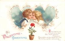 xrt599115 - Valentines Day Post Card Old Vintage Antique Postcard