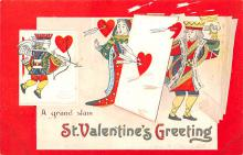 xrt599119 - Valentines Day Post Card Old Vintage Antique Postcard