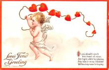 xrt599139 - Valentines Day Post Card Old Vintage Antique Postcard