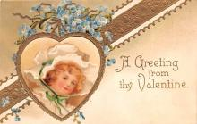 xrt599147 - Valentines Day Post Card Old Vintage Antique Postcard