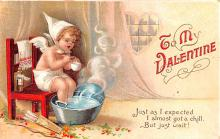 xrt599183 - Valentines Day Post Card Old Vintage Antique Postcard