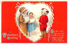 xrt599195 - Valentines Day Post Card Old Vintage Antique Postcard