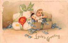 xrt599197 - Valentines Day Post Card Old Vintage Antique Postcard
