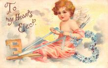 xrt599233 - Valentines Day Post Card Old Vintage Antique Postcard