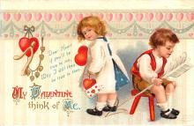 xrt599235 - Valentines Day Post Card Old Vintage Antique Postcard