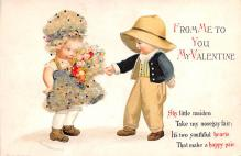 xrt599241 - Valentines Day Post Card Old Vintage Antique Postcard