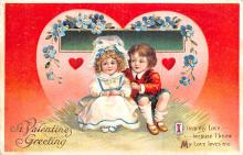 xrt599245 - Valentines Day Post Card Old Vintage Antique Postcard