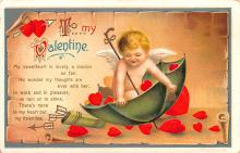 xrt599253 - Valentines Day Post Card Old Vintage Antique Postcard