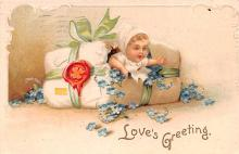xrt599261 - Valentines Day Post Card Old Vintage Antique Postcard